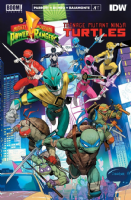 Mighty Morphin' Power Rangers/Teenage Mutant Ninja Turtles - Issues 1 to 5 - Full Set of 5 Comics V